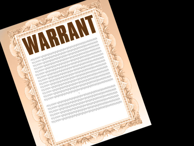 bench warrant