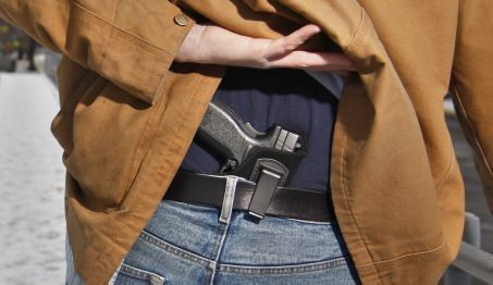 carrying concealed weapon