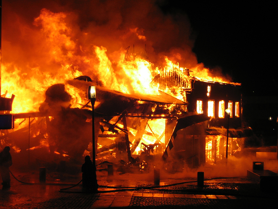 third degree arson
